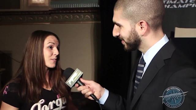 Alexis Davis initially surprised when she was offered to fight Rosi Sexton