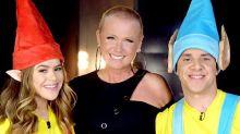 Xuxa grava participação em programa de Maisa Silva no SBT