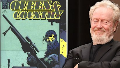 Ridley Scott confirms he's directing comic film 'Queen & Country' (exclusive)