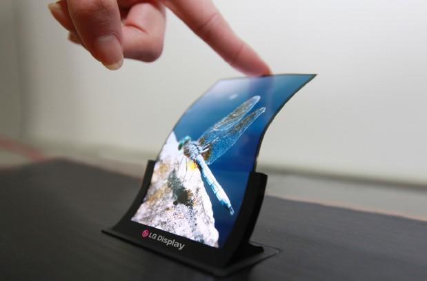 LG to demo 5-inch unbreakable and flexible plastic OLED panel at SID