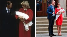 See Kate and Diana's Maternity Outfits