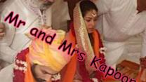 Its official: Shahid-Mira's first wedding picture