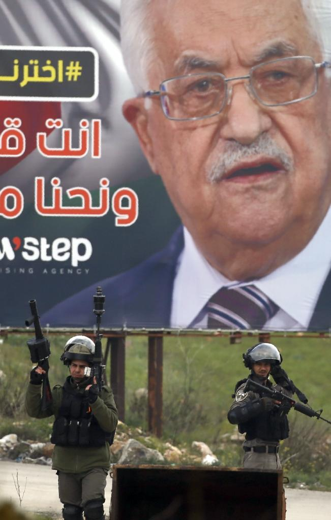 President Mahmud Abbas's dogged commitment to security coordination with the Israeli army, despite the intensifying expansion of Jewish settlements in the occupied West Bank, is deeply unpopular among Palestinians (AFP Photo/ABBAS MOMANI)