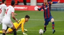 LaLiga: Lionel Messi scores and assists as Barcelona brush aside Sevilla to reignite title hopes