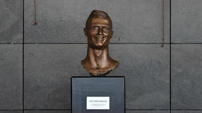 The worst football busts, waxworks and statues ever