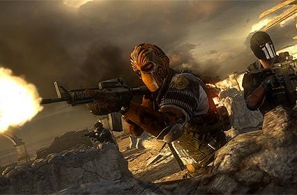 Shredding Spanish architecture in Army of Two: The Devil's Cartel