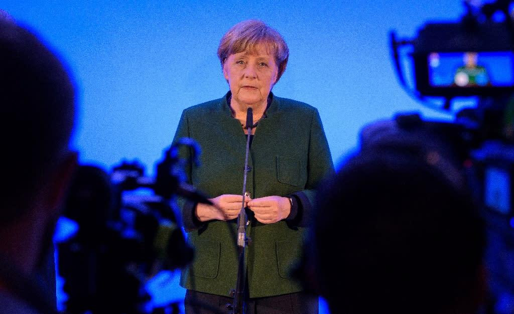 Hundreds of thousands of migrants entered Germany in 2015 under German Chancellor Angela Merkel's open-door policy