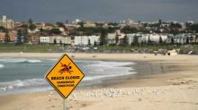 Man 'coughs on police officer' after refusing to leave Bondi Beach