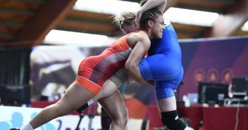 Lutte - ChE (F) - 23 ans - Koumba Larroque championne d'Europe des moins de 23 ans