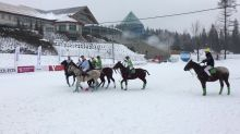 Who knew snow polo existed?