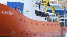 La Aquarius di nuovo alla ricerca di un porto per 11 migranti