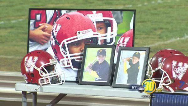 Los Banos community gathers to remember Jayden Thomas