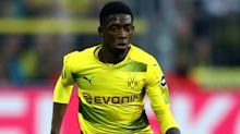 Dortmund coach Bosz has 'no idea' whether Barca target Dembele will stay