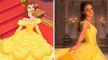 """Realverfilmung vs. Zeichentrick: So ähnlich sind sich die Charaktere aus """"Die Schöne und das Biest"""""""