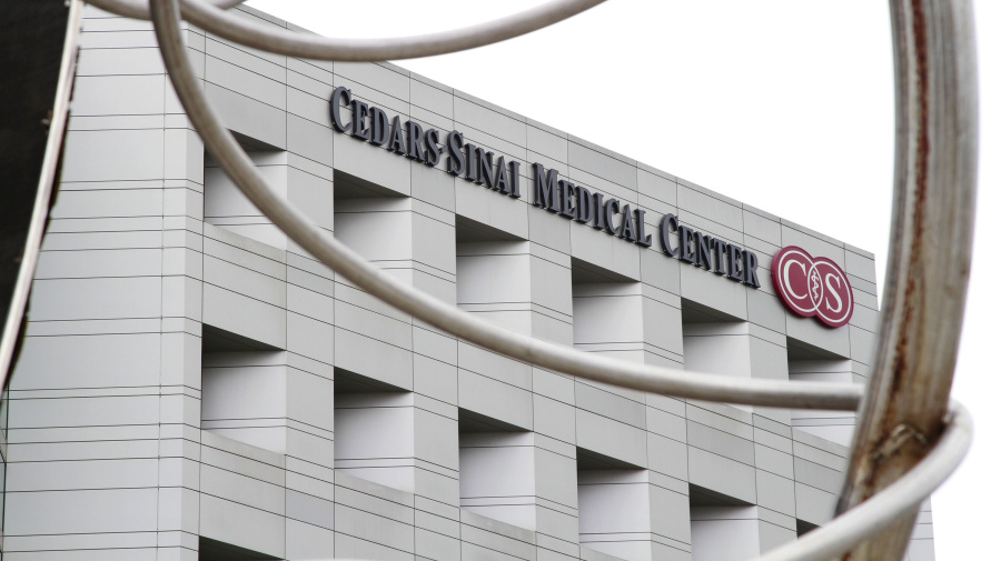 Tiger moved to Cedars-Sinai Medical Center