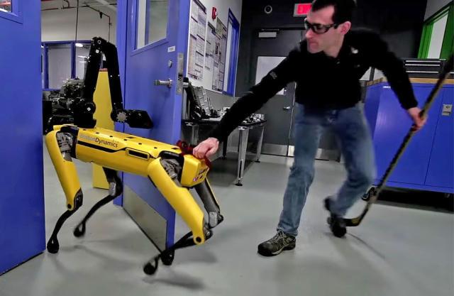 Boston Dynamics' robots won't be held back by puny humans
