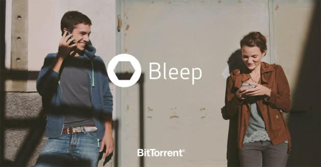 BitTorrent's Bleep messenger is a secure, decentralized chat platform
