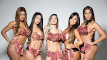 Miss Bumbum Brazil Contestants Wear 'Beef-kinis' To Protest Sexual Harassment