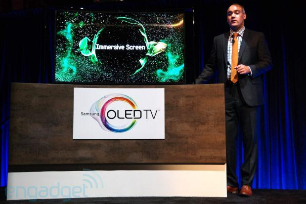 Samsung's 55-inch Curved OLED TV ships today for a sufferable $9,000 (eyes-on)