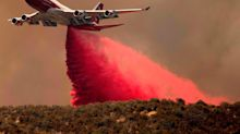 Retired passenger airliners are getting a second life fighting fires as iconic jets are repurposed as water bombers  – take a look