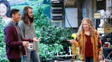 'Disjointed': Kathy Bates gets really high