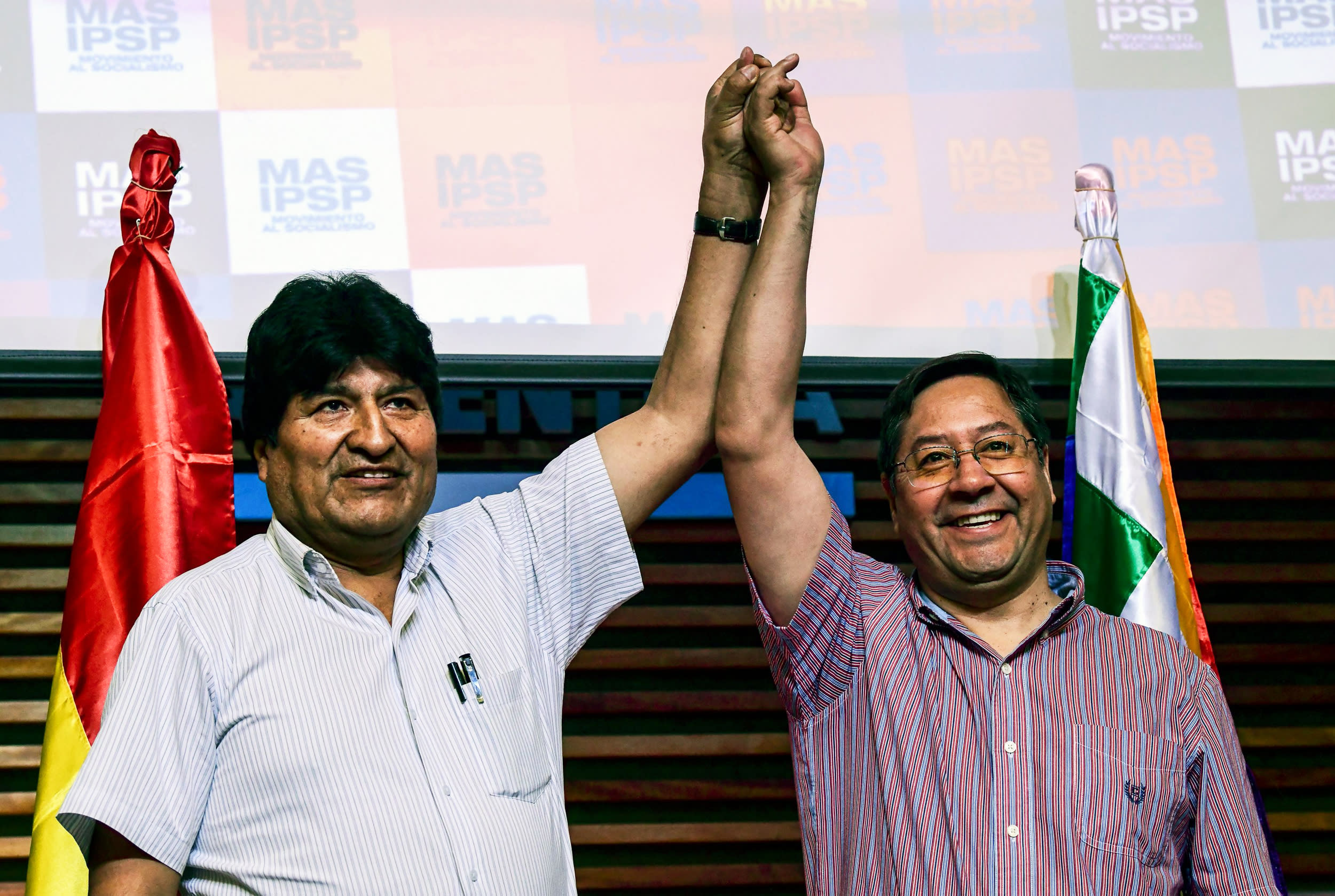 Bolivia appears to shift back left as Morales party claims victory after election