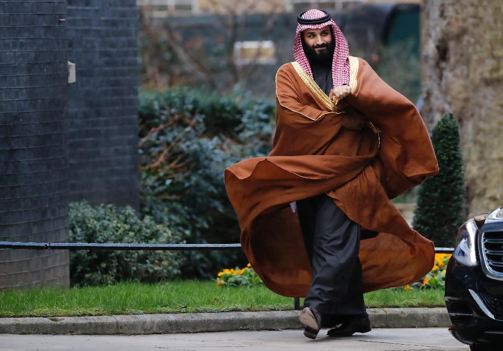 Saudi crown prince to visit DC