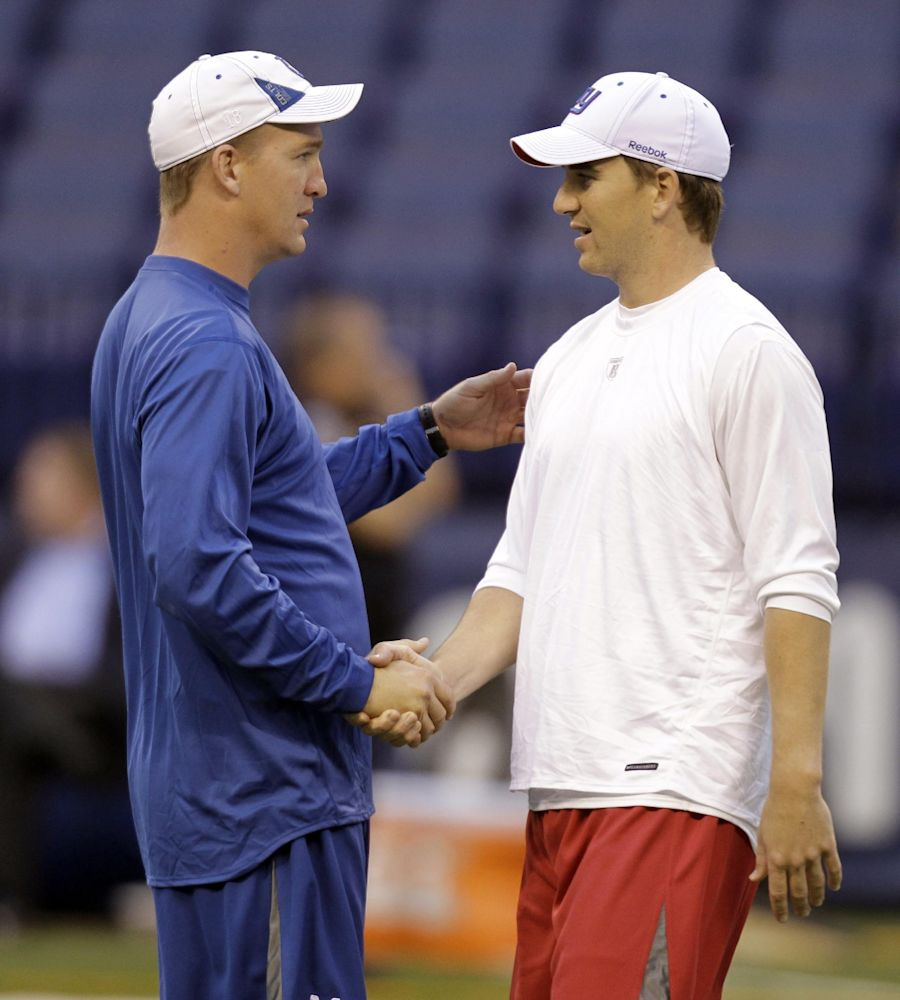 For Eli, Peyton is family first and foremost