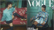 Alicia Vikander, casi irreconocible en la portada de Vogue España