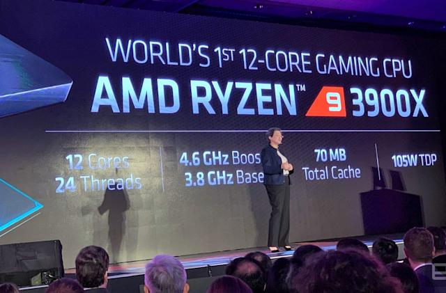 AMD's third-gen Ryzen 9 CPU is a 12-core powerhouse for $499