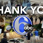 "6abc says ""Thank you!"" to our essential workers reporting through the pandemic"