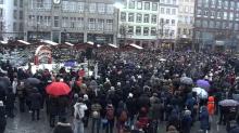 Strasbourg: des centaines de personnes réunies en hommage aux victimes de l'attentat