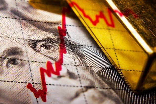 Gold futures retreat as dollar, equities rebound