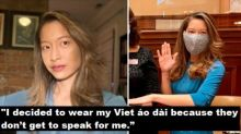 Georgia's First Vietnamese American State Rep Wears Áo Dài to Swear-In