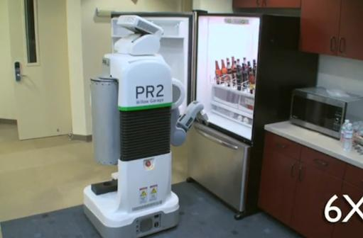 Beer-fetching robot promises to make your significant other obsolete