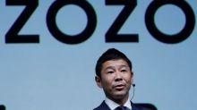 Japanese fashion tycoon Maezawa shows off $900 million SoftBank payday