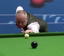 John Higgins makes 147 break at World Snooker Championship