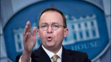 Trump ernennt Haushaltsdirektor Mulvaney zum Übergangsstabschef