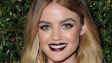 Lucy Hale's New Ombré Blond Hair Is So Pretty It Hurts