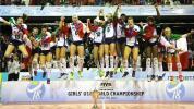 Pallavolo, Italia Under 18 donne campione del mondo in Argentina