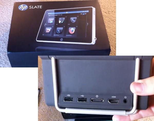 HP Slate prototype gets yet another guided tour, this time with HDMI-equipped dock (video)