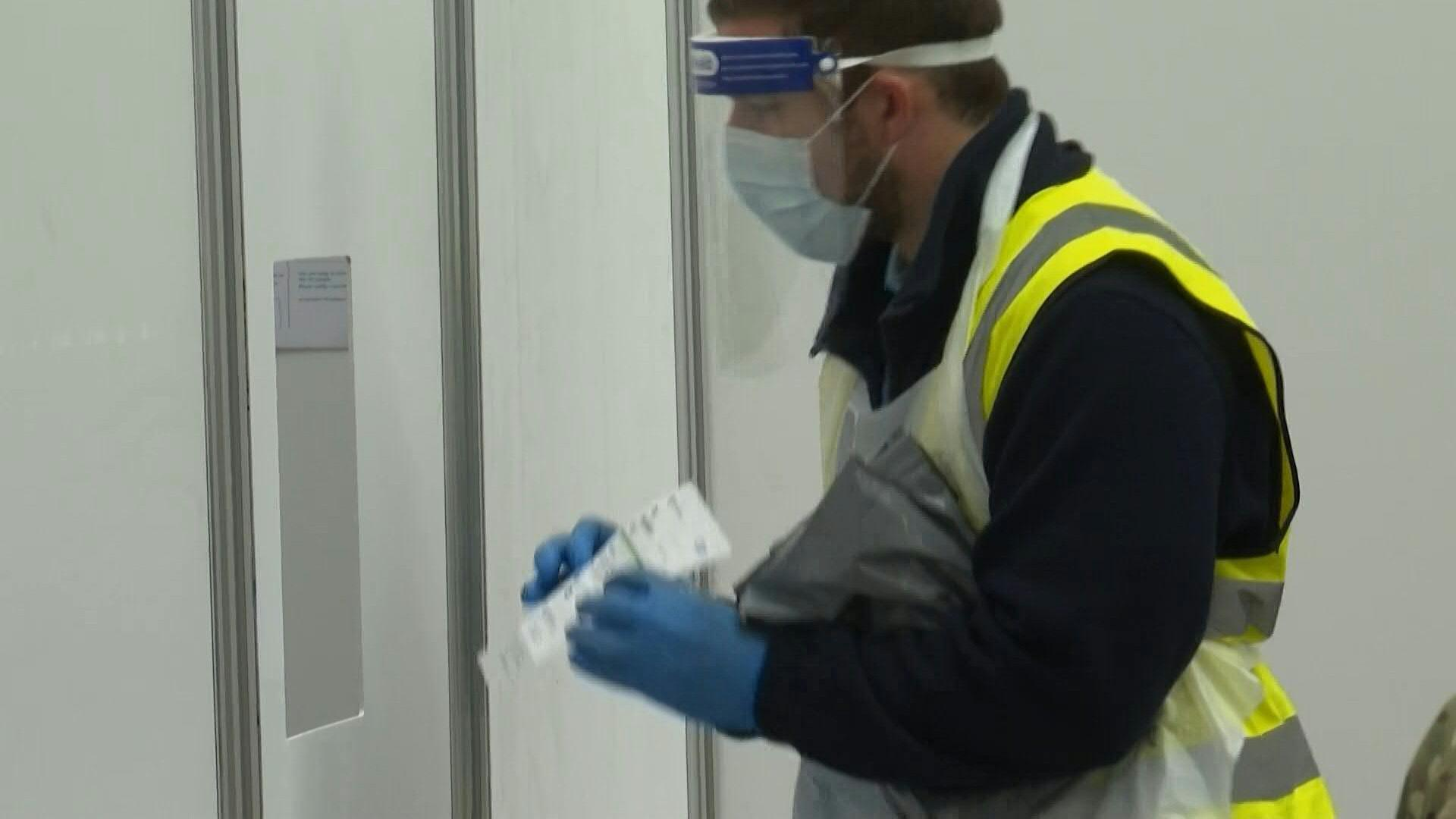 UK's first city-wide coronavirus testing kicks off in Liverpool