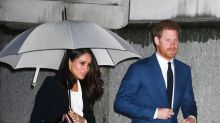 Meghan Markle ditches traditional royal gown in favour of an Alexander McQueen suit for awards ceremony