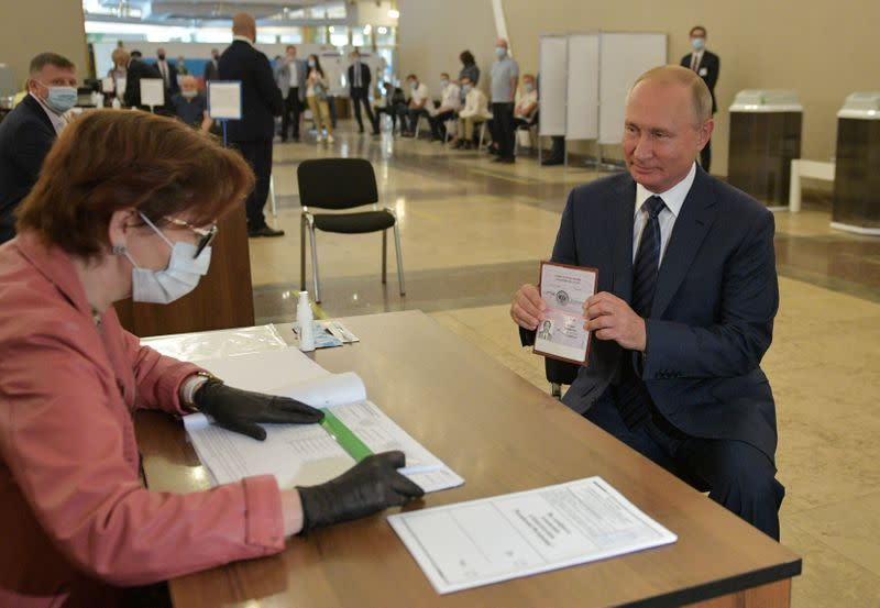 Kremlin calls vote allowing Putin to rule until 2036 a triumph as Russians ponder his next move