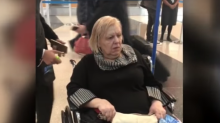 American Airlines passenger left in wheelchair overnight after flight home was cancelled