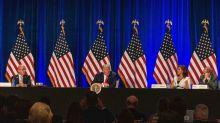 Trump dice en Miami que EEUU puede convertirse pronto en una Venezuela