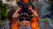 'The risk you run': Colombia's women protesters on sexual violence