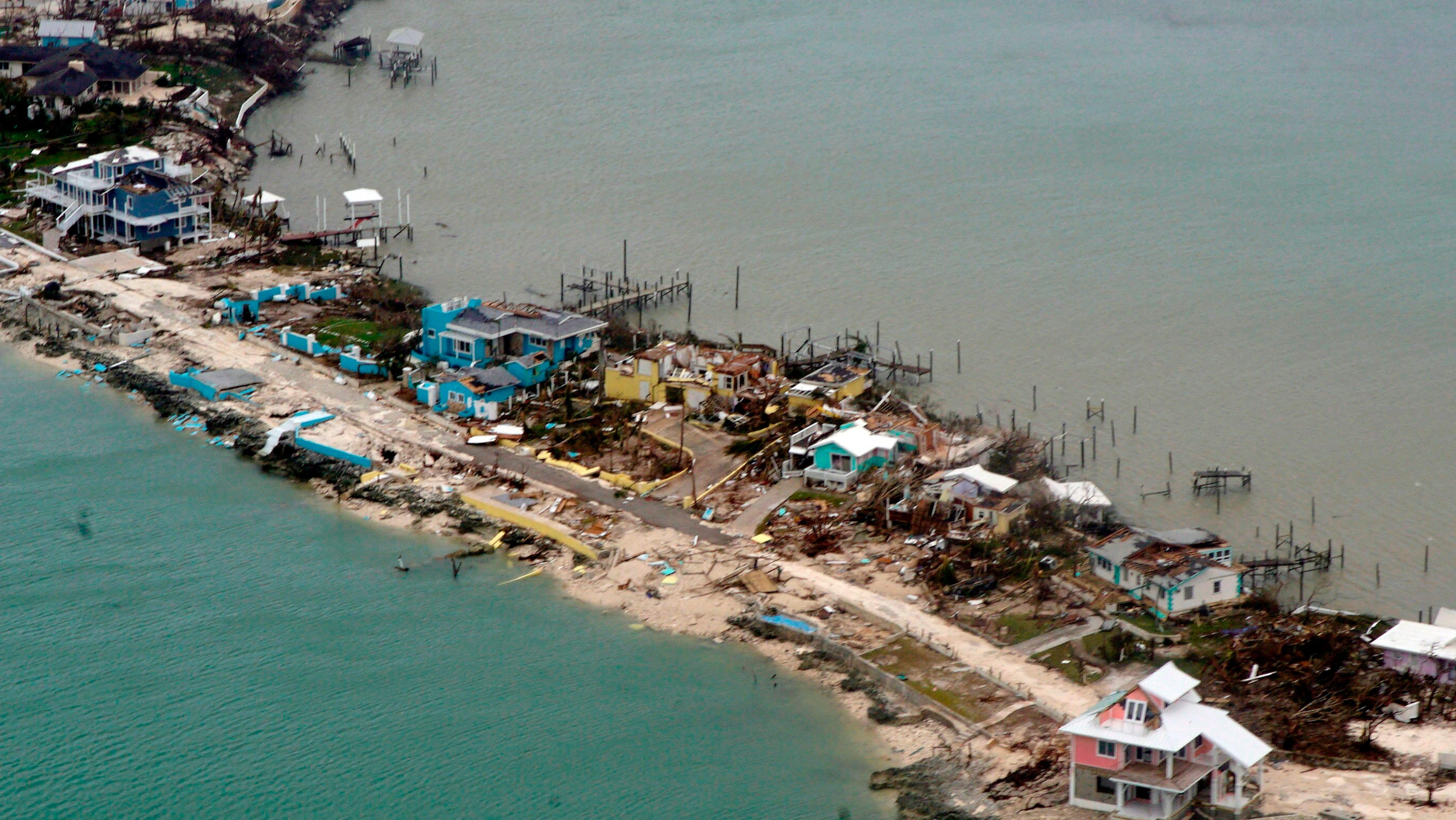 'Total devastation. Apocalyptic': Massive rescue effort in Bahamas; Hurricane Dorian leaves 20 dead