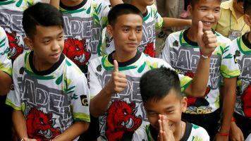 Thai soccer team recalls heroic cave rescue