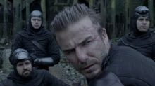 David Beckham's dodgy King Arthur cameo revealed